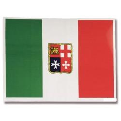 BANDIERA ADESIVA ITALIA 16X24