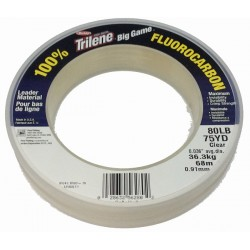 STREN FLUOROCARBON LEADER CLEAR MM.0,91 MT.68 - LB.80 KG.36,3